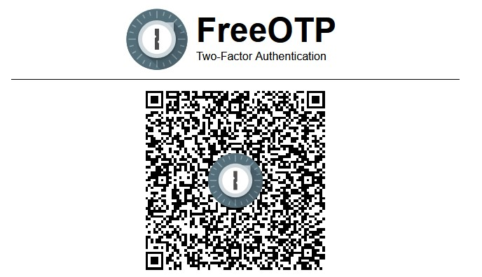 Exemple de QRCode TOTP
